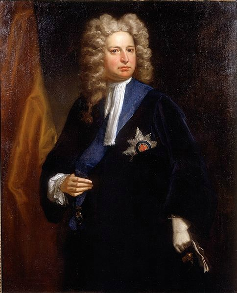 Portrait of Robert Harley, 1st Earl of Oxford and Earl Mortimer (1661-1724), by Jonathan Richardson, c1710