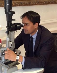 Jaheed Khan at Clinica London