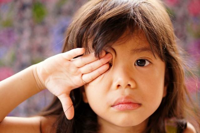 watering eyes in children